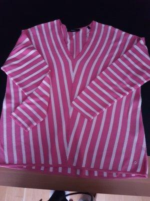 Bonita Oversized Sweater white-pink viscose