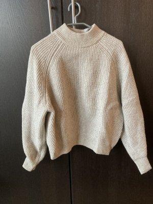 H&M Pullover a maglia grossa bianco sporco