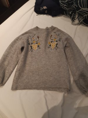Primark Coarse Knitted Sweater light grey