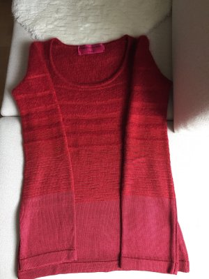 Christian Lacroix Knitted Sweater dark red