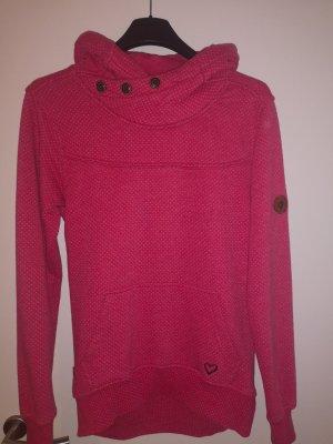 Alife & Kickin Hooded Sweater white-pink