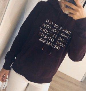 Amisu Capuchon sweater veelkleurig