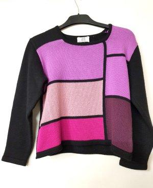 Alba Moda Wool Sweater multicolored