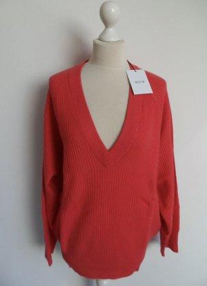 Allude Cashmere Jumper red-magenta