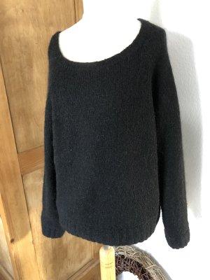 Pullover American Vintage S, Mohair, schwarz