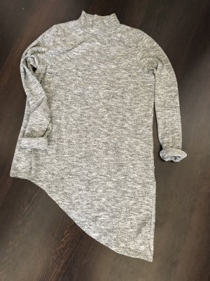 Amisu Long Sweater grey-light grey