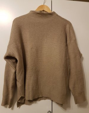 Amisu Crewneck Sweater grey brown