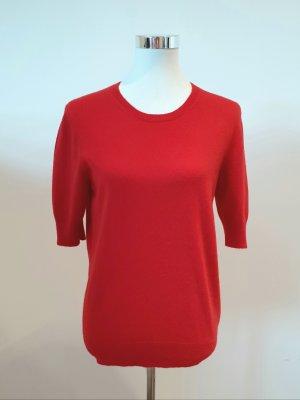 Repeat Pullover in cashmere rosso Cachemire