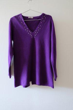Ellemme Pull en laine violet foncé