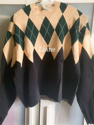 & other stories Kraagloze sweater veelkleurig Viscose