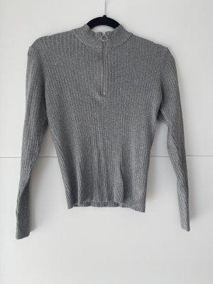 H&M Lange jumper grijs
