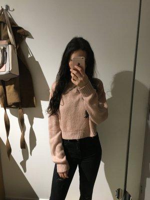 H&M Jersey de punto grueso rosa claro-rosa