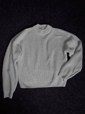 New Yorker Coarse Knitted Sweater sage green