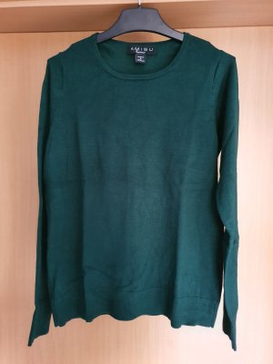 Amisu Crewneck Sweater dark green