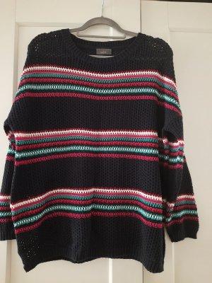 C&A Yessica Pull en crochet multicolore tissu mixte