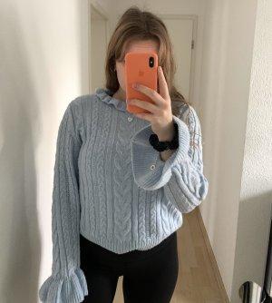 Pullover babyblau