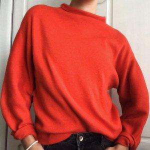 Pullover Ballonärmel und Kragen