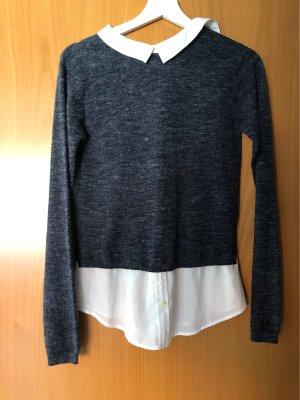 Esmara Knitted Sweater dark blue