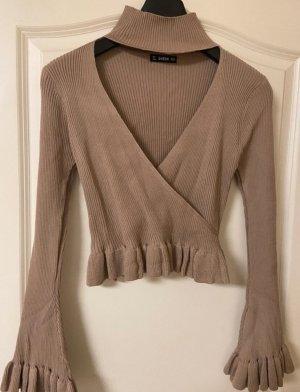 Pullover Beige/Braun