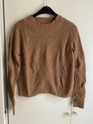Pullover beige braun S 36