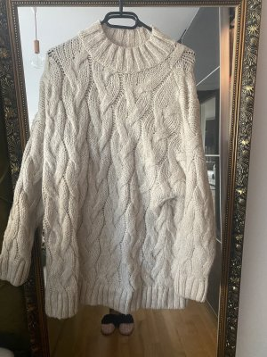 Pullover beige M oversized