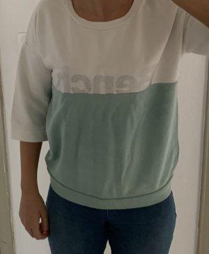 Bench Jersey de manga corta blanco-turquesa