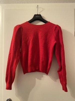 Bershka Cashmere Jumper red