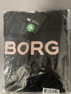 Björn Borg Pull ras du cou noir-rose