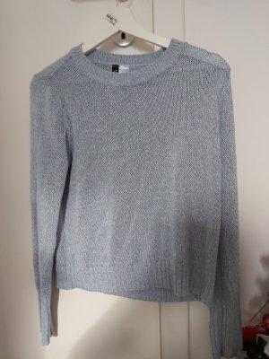 H&M Cardigan en maille fine bleu azur