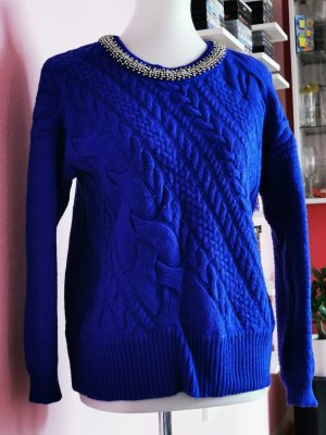 Pullover, Blau, Silber, Pepe Jeans (Box 10)