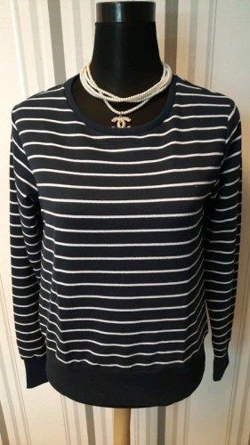 Pullover blau/weiß gestreift Größe L Neu