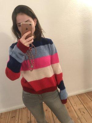 Pullover Blockfarben bunt XS