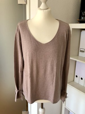 Pullover Blogger rose/taupe