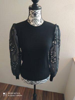 Bluoltre Maglione lavorato a maglia nero