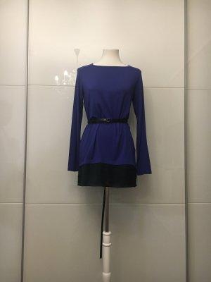 Pullover -Bluse Neon Blau