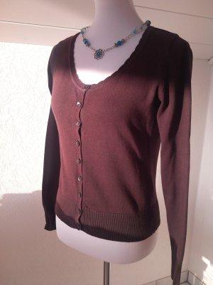 %Pullover braun,Weste,Gr.S/36,Multiblu