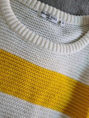 Brave Soul Maglione lavorato a maglia multicolore Tessuto misto