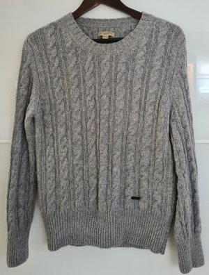 Burberry Brit Maglione di lana grigio