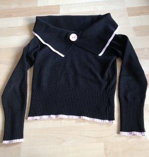 Pimkie Kimono sweater zwart-roze