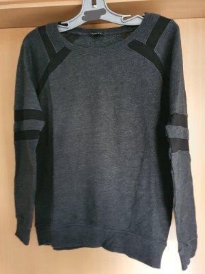 Amisu Crewneck Sweater dark grey