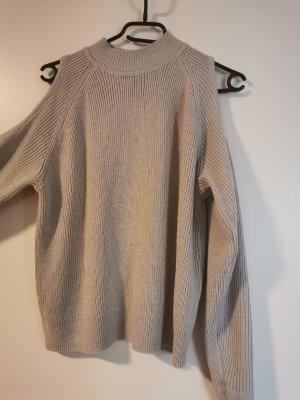 H&M Maglione girocollo grigio chiaro