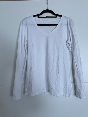 C&A Basics V-Neck Sweater white