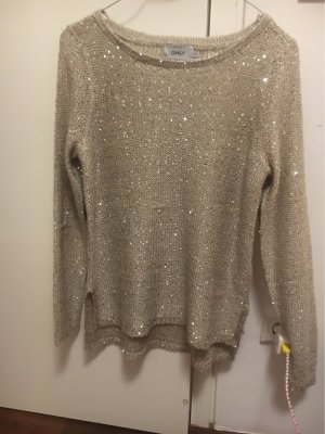 Only Jersey Twin-Set color plata