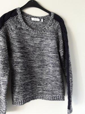 Yessica Szydełkowany sweter ciemnoniebieski