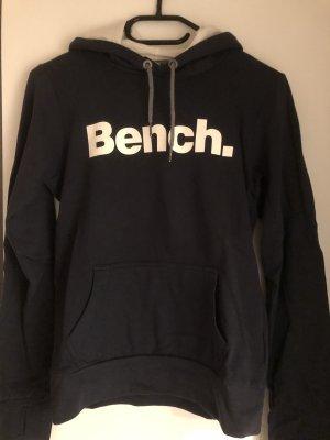 Bench Jersey con capucha azul oscuro-blanco