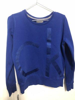 Calvin Klein Pull long bleu