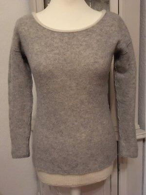 Rosa von Schmaus Cashmere Jumper natural white-light grey cashmere