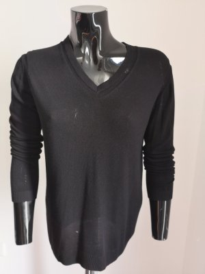 Zara Basic Sweater Twin Set black
