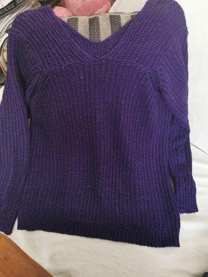 Vestido tipo jersey lila