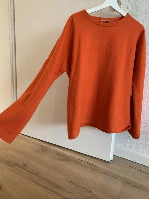 Zara Trafaluc Pull oversize rouge